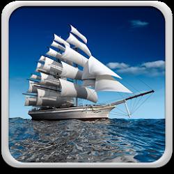 帆船動態壁紙