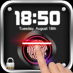 指紋識別鎖屏 Prank