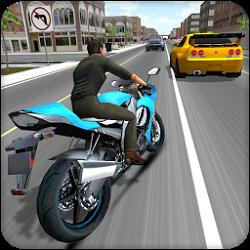 摩托車賽車3D