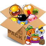 Emoticons pack, Halloween