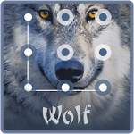 Cool Wolf King AppLock Theme