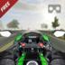 VR瘋狂摩托車交通比賽