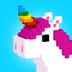 UNICORN 3D 塗色遊戲: 獨角獸 像素塗色